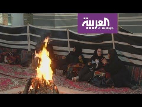 العرب اليوم - شاهد: انطلاق موسم التخييم والمقناص في السعودية