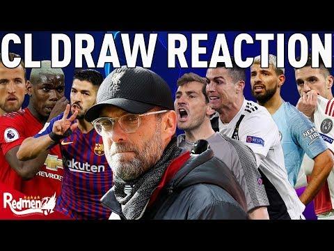 Champions League Quarter Finals Draw | In-Depth Reaction