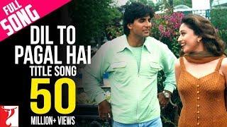 Video Dil To Pagal Hai - Full Title Song | Shah Rukh Khan | Madhuri | Karisma | Akshay | Lata | Udit MP3, 3GP, MP4, WEBM, AVI, FLV Agustus 2018