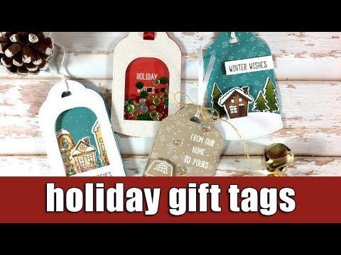 Holiday gift tags | Studio Katia blog hop & giveaway