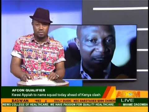 Badwam Sports on Adom TV (22-8-18) (видео)