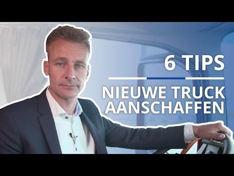 6 tips voor aanschaffen van nieuwe truck