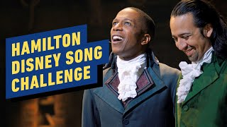 Disney Song Challenge with Cast of Hamilton by IGN