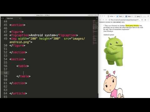9- HTML5||  Divs and Table