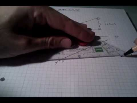 Techn. Zeichnen Wahre Länge (Klappen)