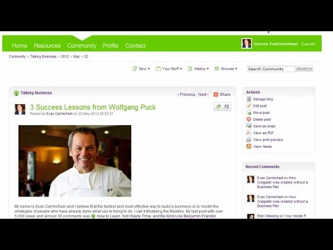 Business Ideas – How to make great business ideas happen without money – Ask Evan