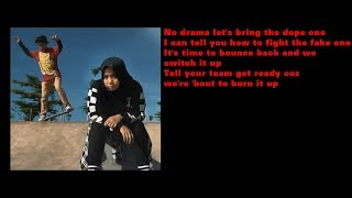 Lady Gan X Jeri Taufik - Burn it Up ( Lyric Video )