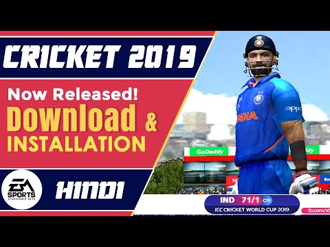 Ea Sports Cricket 2019 - How To Download & Install | PC 19 Mega Patch (Hindi Tutorial)