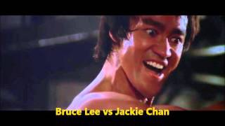 Bruce Lee vs Jackie Chan real fight