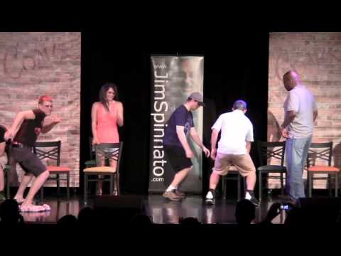 Hypnotist Makes Volunteers Think They're Exotic Dancers; Live at COMIX At Foxwoods