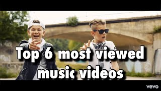 Marcus & Martinus - Top 6 most viewed music video