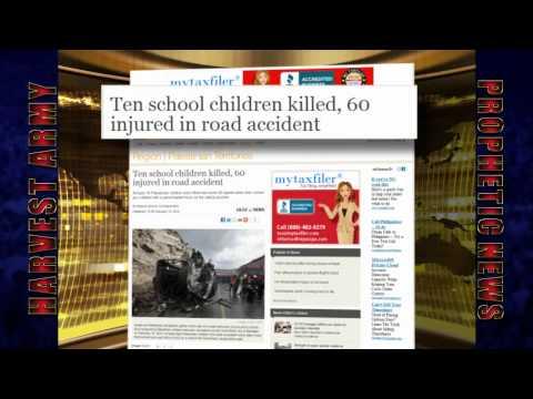 Fatal BUS-TRUCK DISASTER Israel-Palestine 10 Dead 9 Children 60 Injured:Feb. 16, 2012