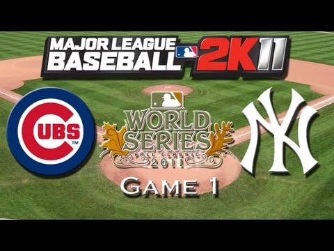 worldseries - Guess what I did? I found an old saved game of MLB 2K11 and the Cubs franchise so after I simulated and made it to the world series I thought it would be coo...