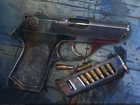 Пистолет самозарядный малогабаритный ПСМ
