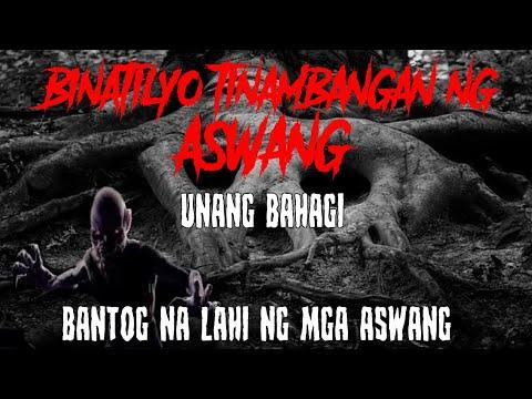 BINATILYO TINAMBANGAN NG ASWANG    A TRUE ASWANG STORY    MGA TOTOONG KWENTO NG KABABALAGHAN