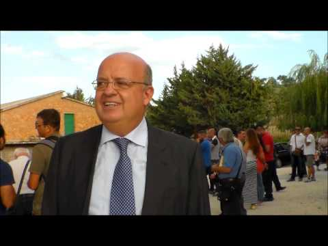 Parco delle Morge: intervento del Rettore dell'Unimol all'inaugurazione del percorso naturalistico Morgia di Pietravalle