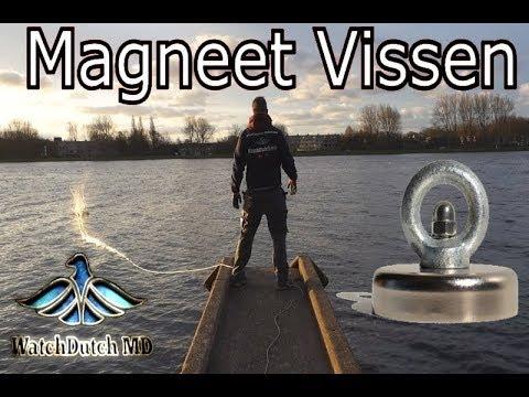 MAGNEETVISSEN - ONZE EERSTE KEER  - METAALDETECTOR NEDERLAND (видео)