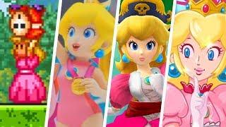 Evolution of Playable Princess Peach (1988 - 2019)
