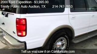 2000 Ford Expedition  - for sale in Dallas, TX 75208