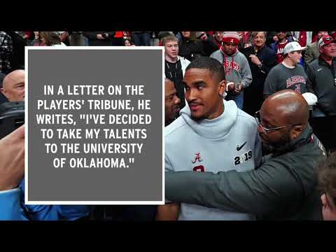 Video: Jalen Hurts Announces He Is Transferring To Oklahoma
