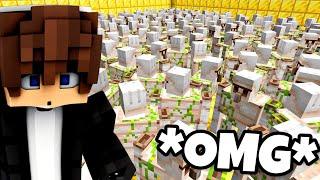 1000 GOLEMÓW w DOMU ELVISOO PRANK w Minecraft