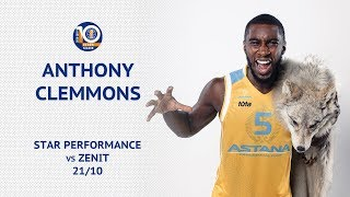 Star performance — Anthony Clemmons VS «Zenit»