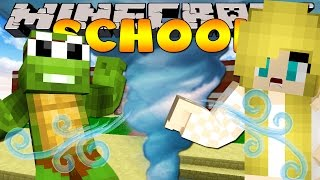 Minecraft School - TORNADO HITS THE SCHOOL!