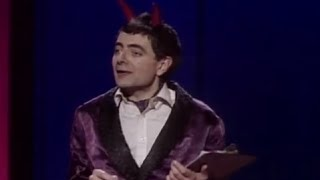 Video Rowan Atkinson Live - The Devil 'Toby' welcomes you to Hell MP3, 3GP, MP4, WEBM, AVI, FLV Januari 2019