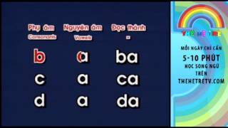 TheHeTreTV.com - Học Đánh Vần - Chữ A - Tập Đọc Tiếng Việt