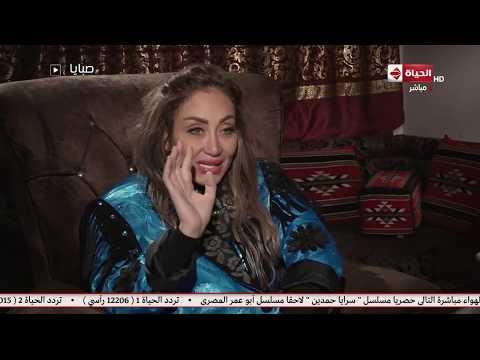 ريهام سعيد ترتدي بذلة شعبان عبد الرحيم على الهواء