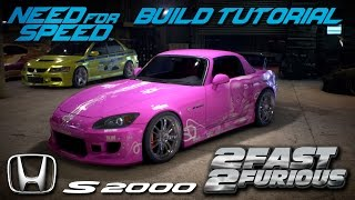 Nonton Need for Speed 2015 | 2 Fast 2 Furious Suki's Honda S2000 Build Tutorial | How To Make Film Subtitle Indonesia Streaming Movie Download