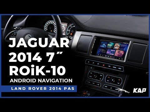 JAGUAR 2014 year 7inch ROIK-10 Android Navigation