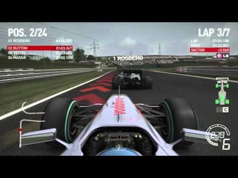 F1 2010 - gameplay pc HD