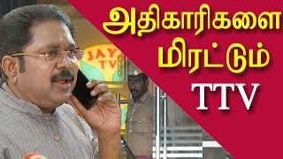 Video it raids at jaya tv |  ttv dinakaran of aiadmk threatening officers | tamil news today redpix MP3, 3GP, MP4, WEBM, AVI, FLV Februari 2019