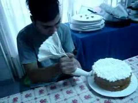decorando tortas
