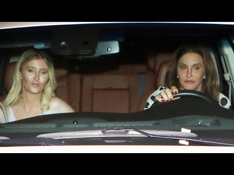 Caitlyn Jenner Asked If She'll Ever Speak To Kim Again After Dinner Date With Young Blonde