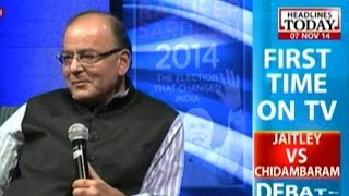 Video HLT Special: Jaitley Vs Chidambaram Debate: The great face-off (Part 2) MP3, 3GP, MP4, WEBM, AVI, FLV November 2017