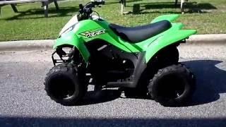 10. 2017 - Kawasaki KFX®50