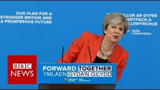 UK Electioon - Theresa May accused of U-Turn on social care plans