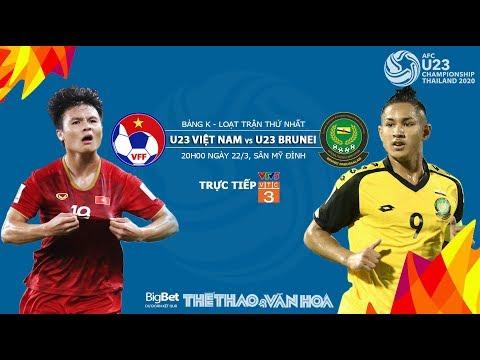 [TRỰC TIẾP] U23 Việt Nam vs U23 Brunei (20h00, 22/3). Dự đoán và nhận định. VTV5 trực tiếp bóng đá - Thời lượng: 5:45.