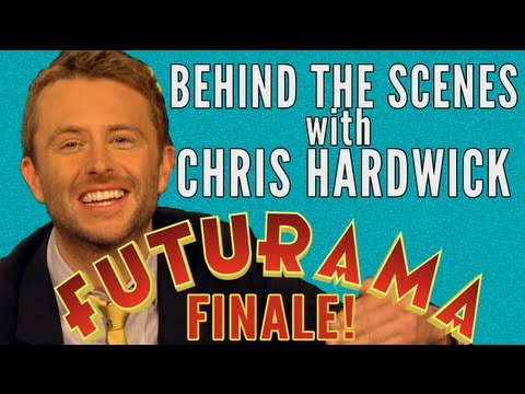 Futurama Finale Behind the Scenes with Chris Hardwick