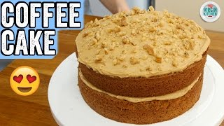EASY COFFEE CAKE RECIPE by  My Virgin Kitchen