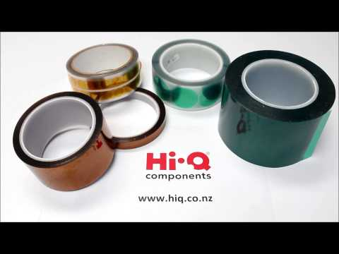 Polyester and Kapton Discs and Tapes