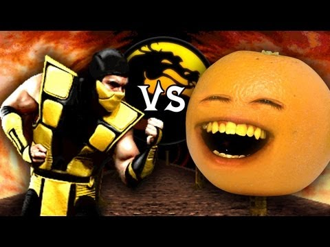 0 Annoying Orange vs Mortal Kombat
