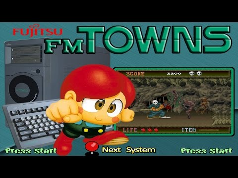 Fujitsu FM Towns A to Z - Hyperspin Arcade - Retro Gaming & Emulation