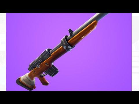 Longest Hunting Rifle Shot in Fortnite (278)