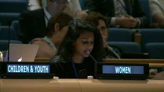 Jessica George's intervention at the HLPF 2015: http://webtv.un.org
