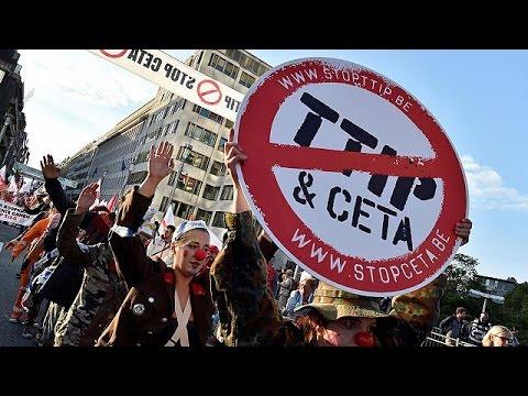 Βέλγιο: Βροντερό «όχι» στην TTIP