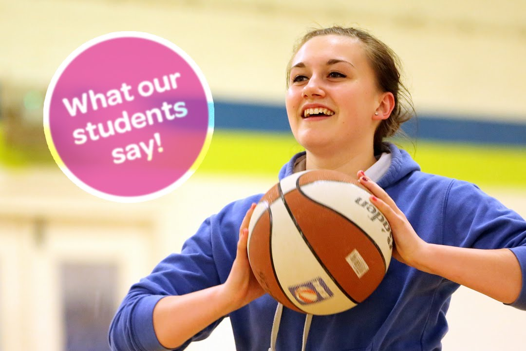 CAVC: What our students say - Sport