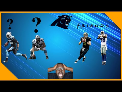 Carolina Panthers Eric Reid, Ryan Kalil Questionable! New Orleans Saints Sign Dez Bryant!!|LCameraTV